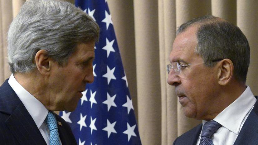 МИД РФ: Сергей Лавров заявил Джону Керри о необходимости срочных мер по прекращению операции на Украине