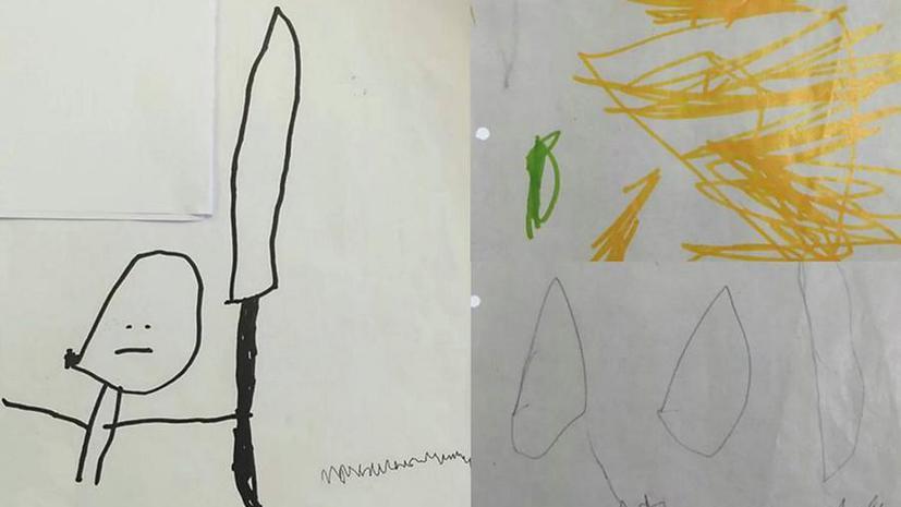 Заводной огурец: в Британии 4-летнего мальчика обвинили в радикализме из-за детского рисунка