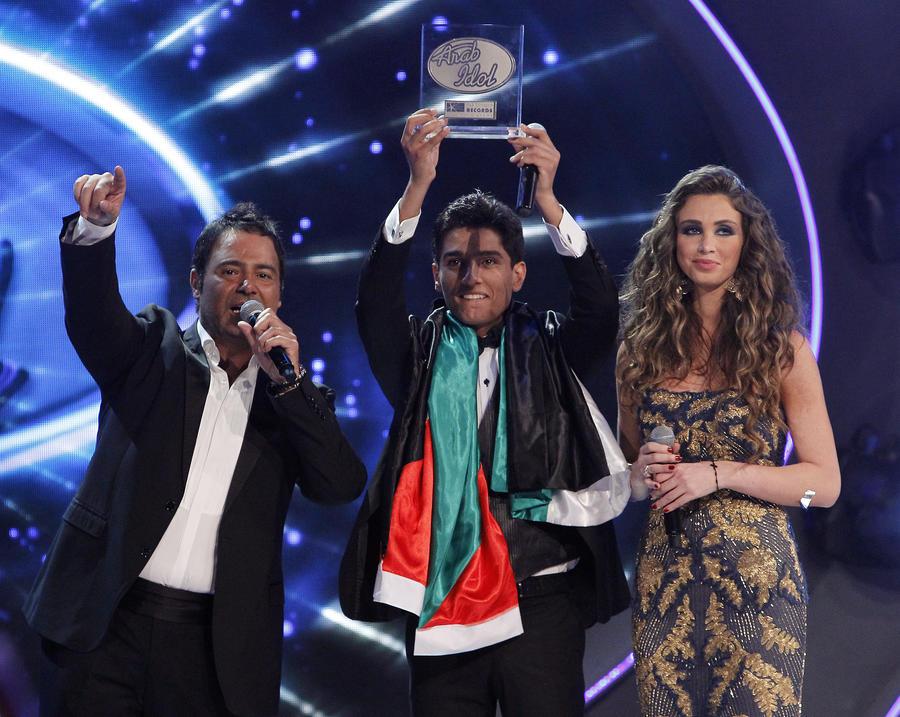 Певец из сектора Газа выиграл музыкальный конкурс в Ливане
