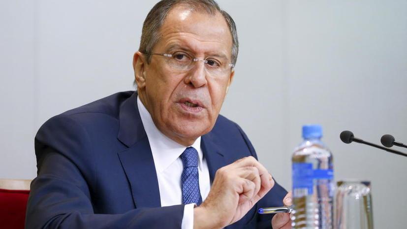 Сергей Лавров: Турция уже окапывается в сотнях метров от границы внутри Сирии