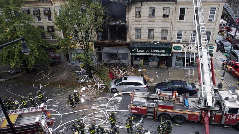 Один человек погиб, ещё трое пострадали в результате взрыва и обрушения жилого дома в Нью-Йорке