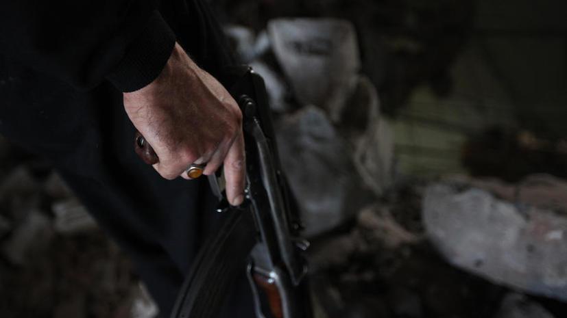 МИД Сирии: мирные жители служат «живым щитом» боевикам