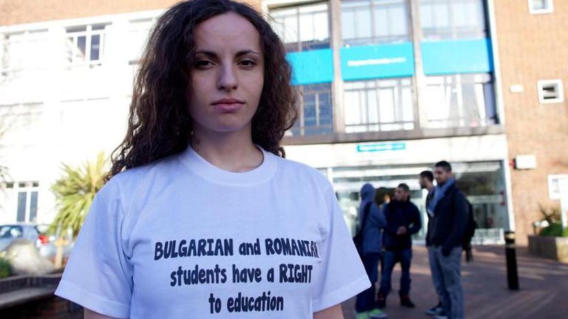 За первые три месяца 2014 года в Великобританию приехали 45 тысяч граждан Болгарии и Румынии