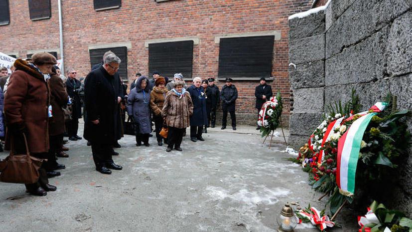 Корреспондент RT Пола Слиер в Освенциме: «Каждый из нас переживает холокост по-своему»