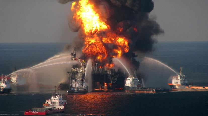 Прокуратура обвинила BP в гибели людей на платформе Deepwater Horizon
