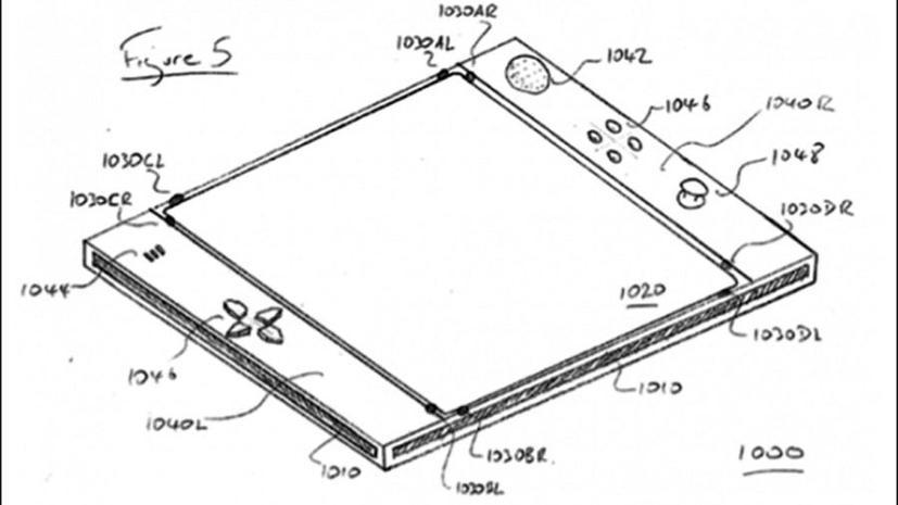 Sony запатентовала айпэд