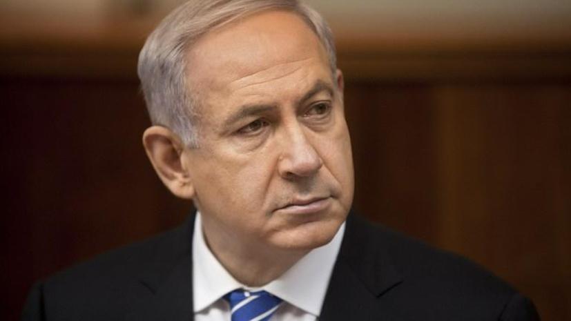 Нетаньяху: Израиль не позволит, чтобы химическое оружие из Сирии попало «не в те руки»