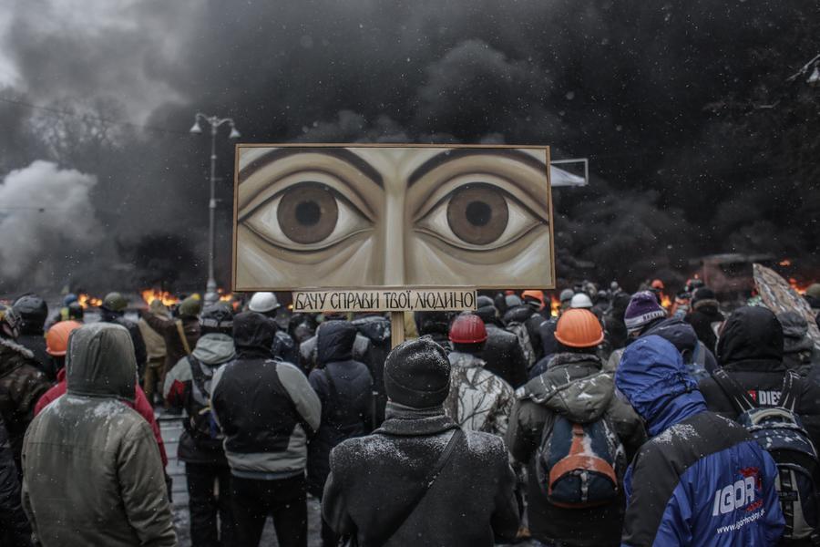 Киев в огне: Фотохроника самой горячей недели украинской столицы