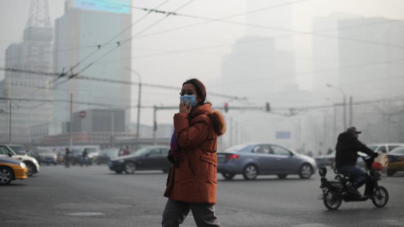 На китайское правительство подан первый судебный иск за сильное загрязнение воздуха