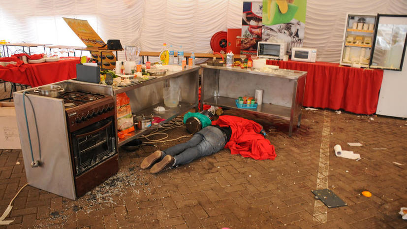 Россиянка пять часов пряталась в захваченном террористами торговом центре в Кении