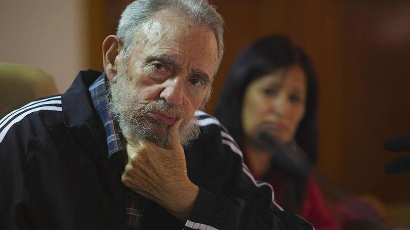 Фидель Кастро: США должны компенсировать Кубе многие миллионы долларов ущерба