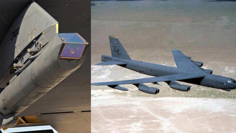 Американские Б-52 начнут сбрасывать бомбы с лазерной точностью