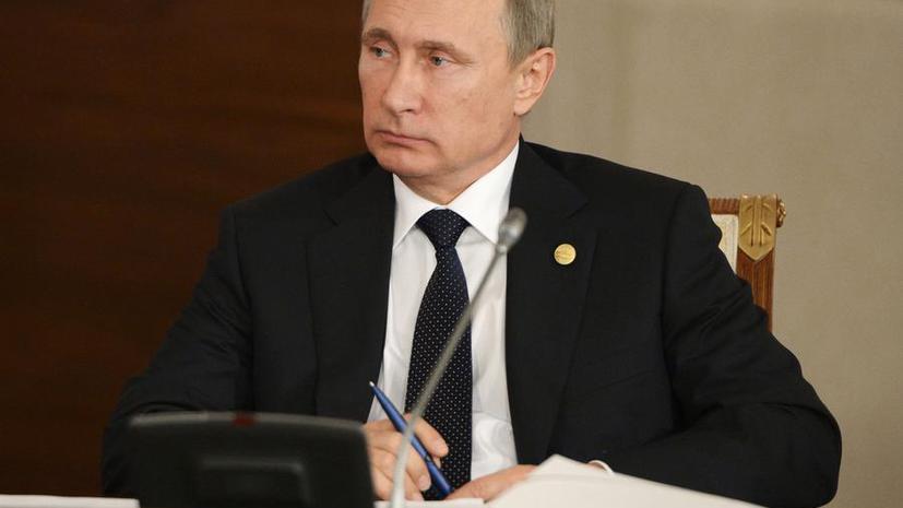 Владимир Путин: Российская авиация добилась существенных результатов в Сирии