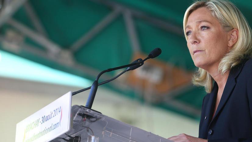 Марин Ле Пен: В ситуации с «Мистралями» Франция действует по указке США