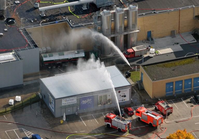 14 инвалидов погибли во время пожара в Германии