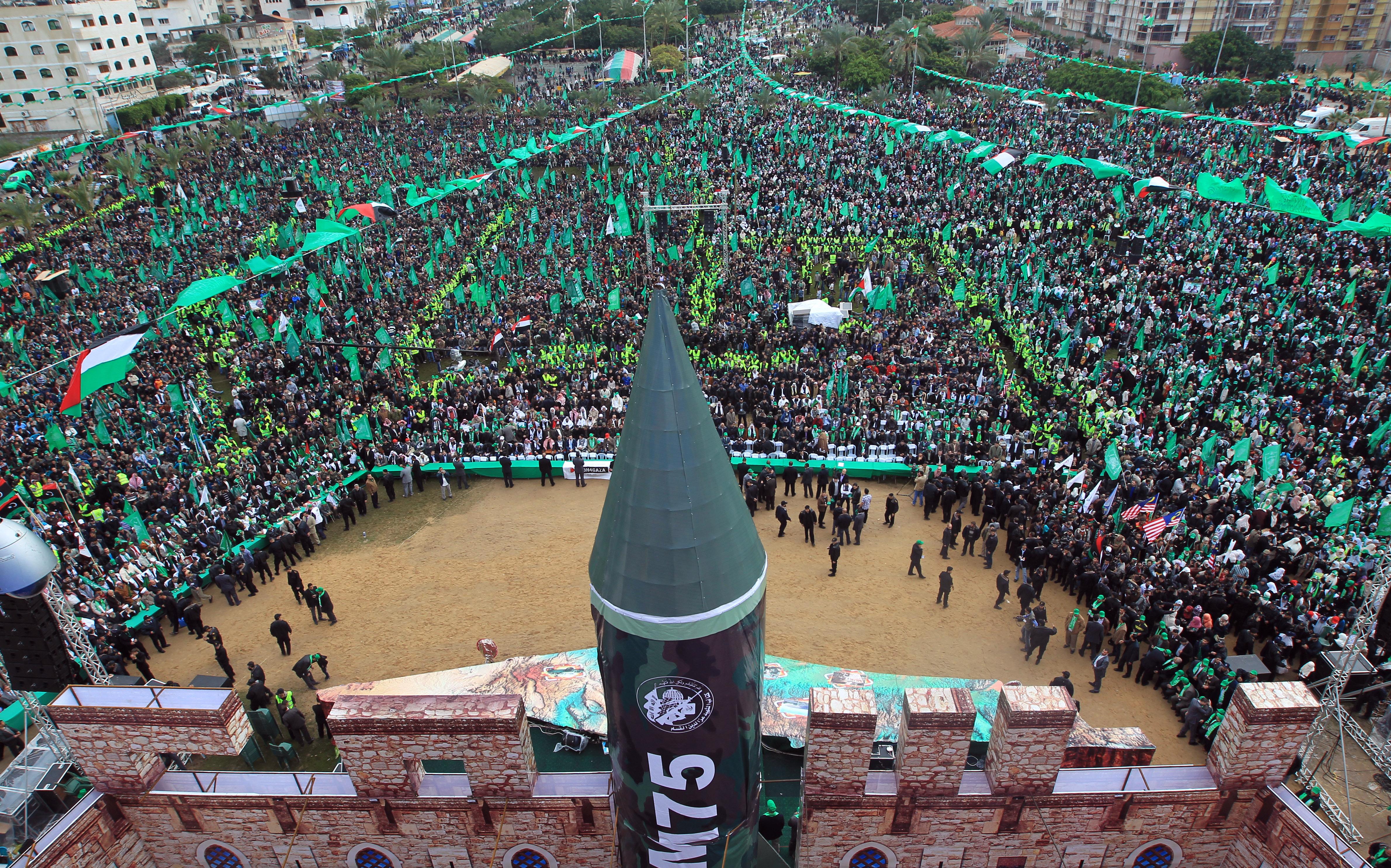 Сектор Газа отмечает юбилей ХАМАС