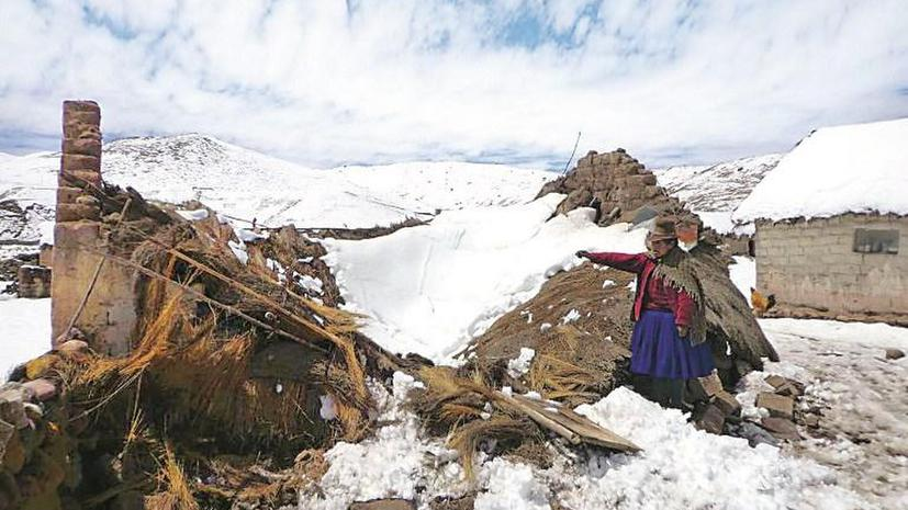 В Перу объявлено чрезвычайное положение из-за аномального холода