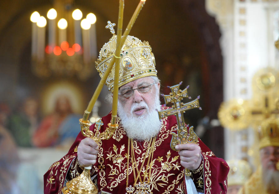 Грузинский патриарх попросил Владимира Путина вмешаться в ситуацию на грузино-осетинской границе