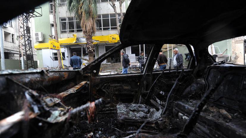 Смертник устроил теракт в курдском городе на севере Сирии