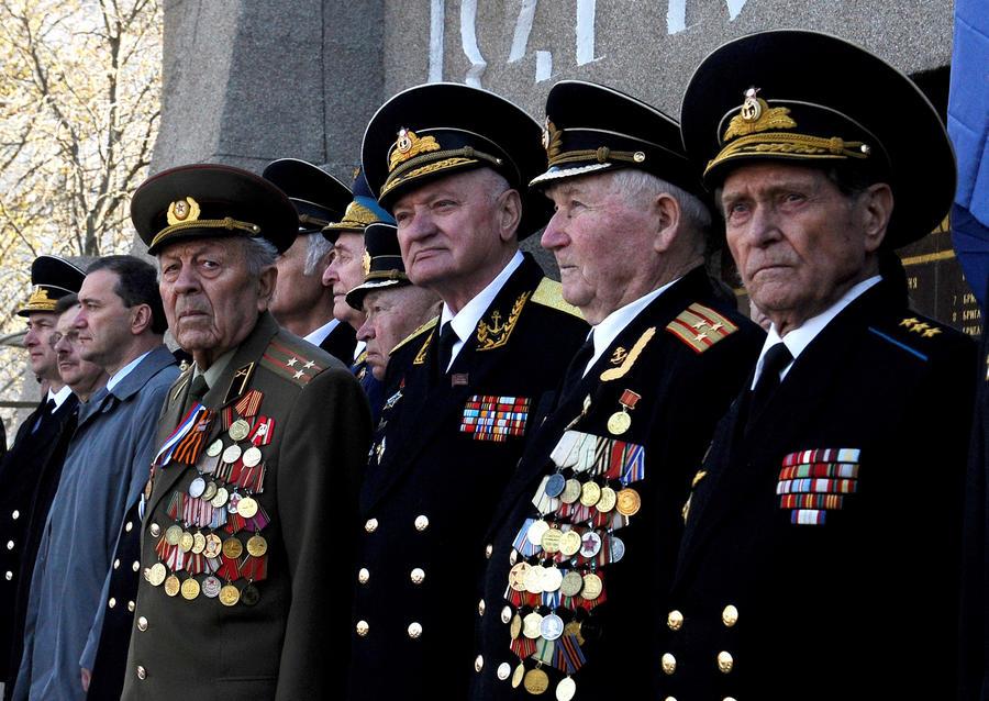 Крым отмечает 70-ю годовщину освобождения от фашистов