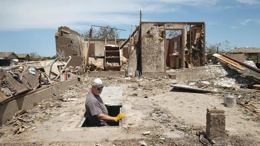 Торнадо в Оклахоме обошлось казне в $2 млрд