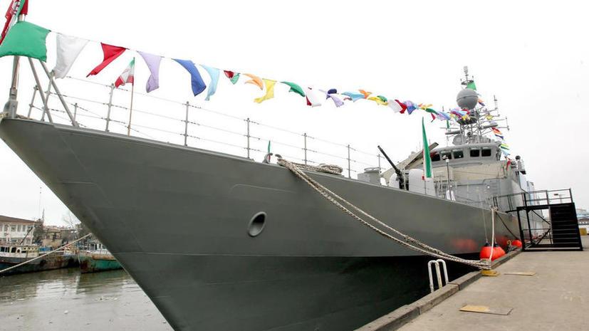 Иран спустил в воды Каспия первый эсминец