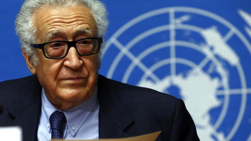 Лахдар Брахими: Если бы Запад послушал Россию, в Сирии уже давно был бы мир