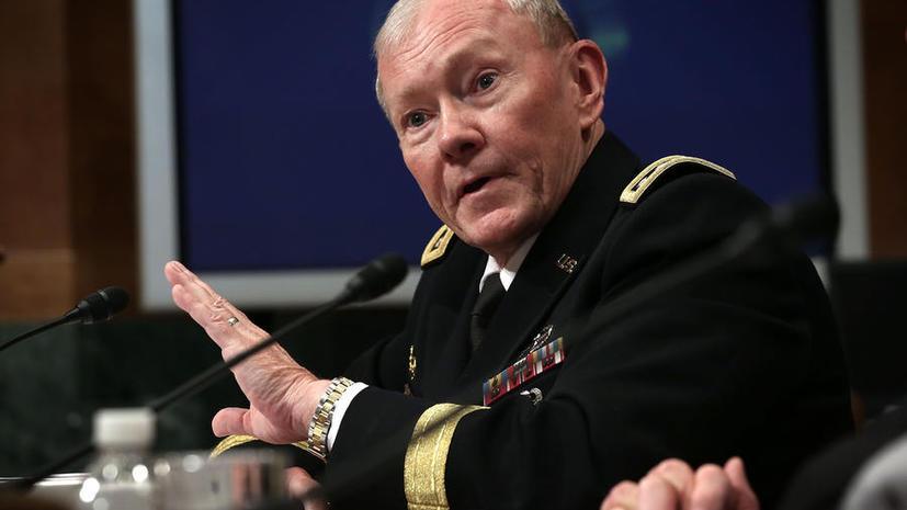 Американский генерал предложил политикам решить вопрос о вмешательстве в сирийский конфликт