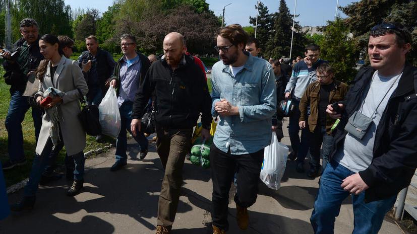 Немецкий телеканал: Освобождение наблюдателей ОБСЕ – заслуга лично Путина