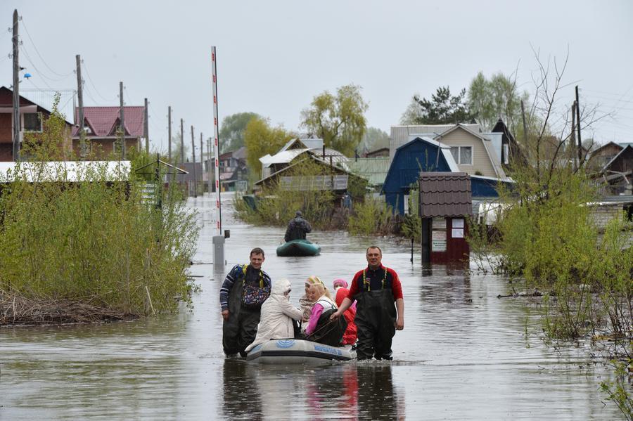 Паводок на реке Обь в Новосибирской области стал крупнейшим с 1969 года