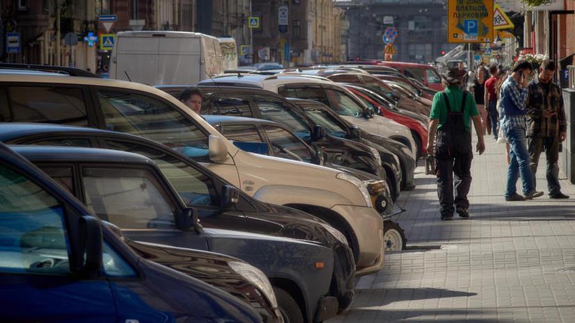 В Москве начинаются работы по сокращению парковочных мест в центре города