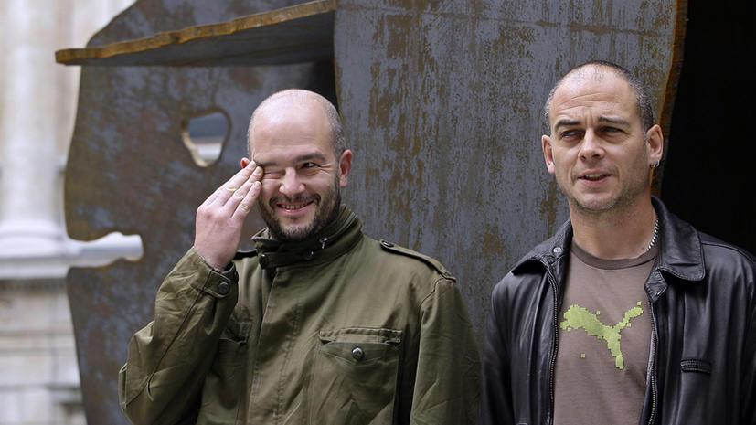 Современные британские художники «экстремально» извинились перед петербуржцами