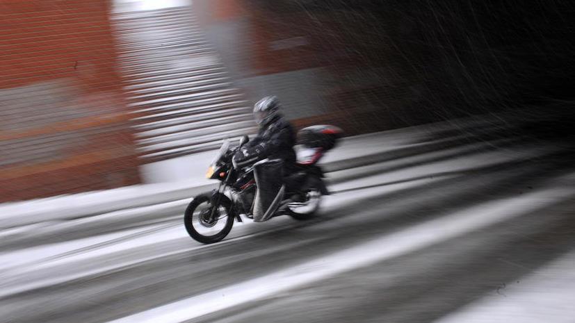 Мотогонщик в США разбился при попытке побить мировой рекорд скорости