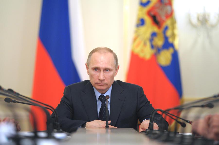 Владимир Путин: Керченский мост должен быть автомобильным и железнодорожным