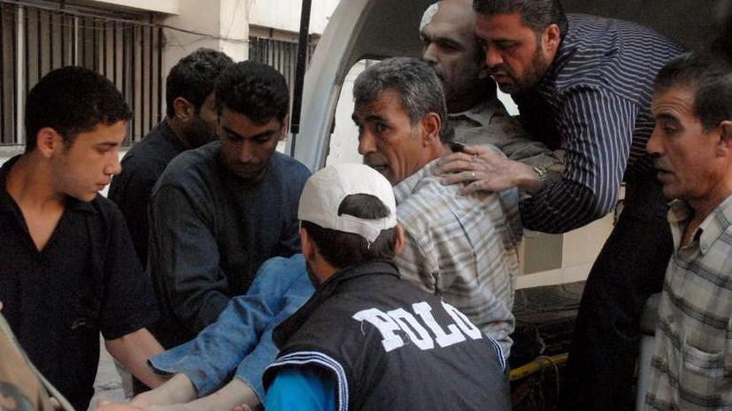 В результате теракта в пригороде Дамаска около 40 человек погибли