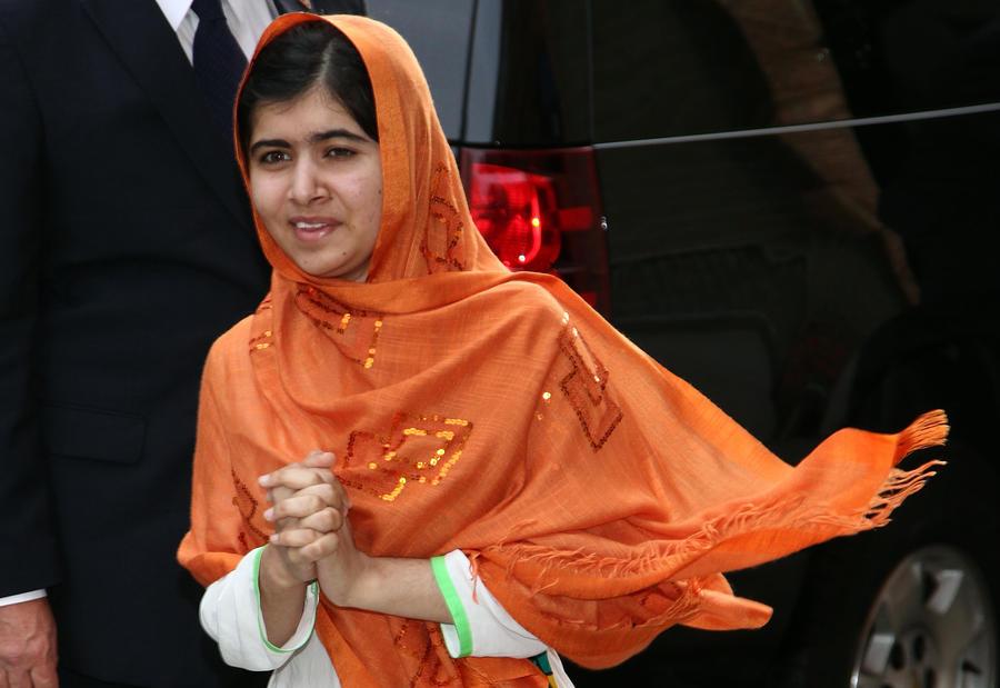 Лауреатом премии Сахарова стала пакистанская девушка Малала Юсуфзай