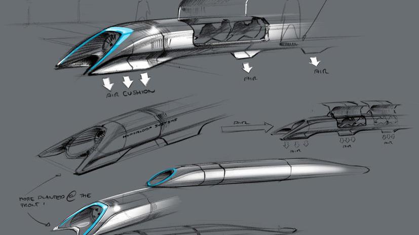 Амбициозный проект Элона Маска: Сверхскоростной транспорт будущего появится уже через десять лет