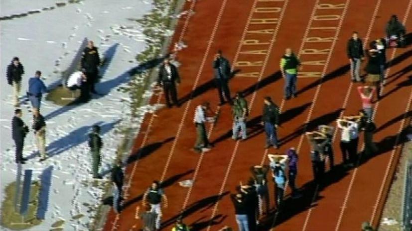 Ученик средней школы в штате Колорадо ранил двух человек, а затем покончил с собой