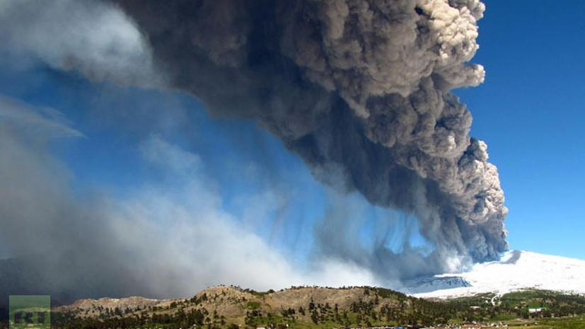 В Чили проснулся вулкан Копауэ
