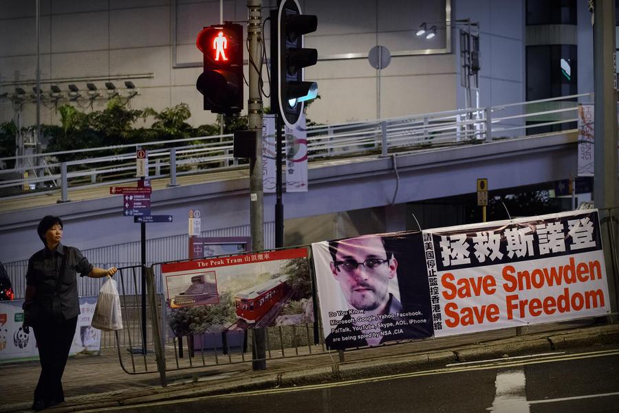 Гонконг не задержал Сноудена, потому что власти США написали с ошибкой его имя