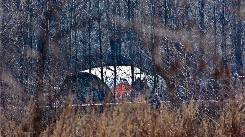Польша опровергла обнаружение следов взрывчатки на самолете Качиньского