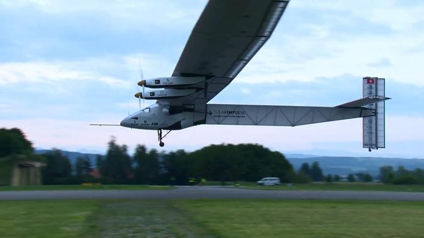 Самолёт на солнечных батареях Solar Impulse 2 в рамках кругосветного путешествия долетел до Китая