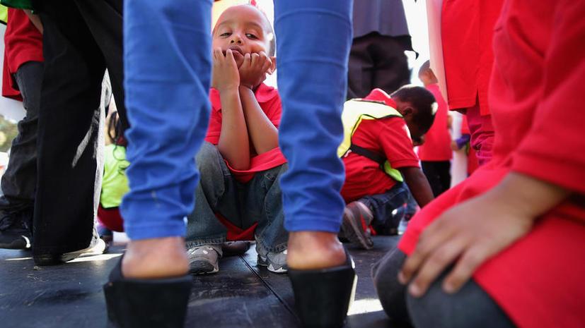 Исследование: каждый третий ребёнок в США живёт за чертой бедности