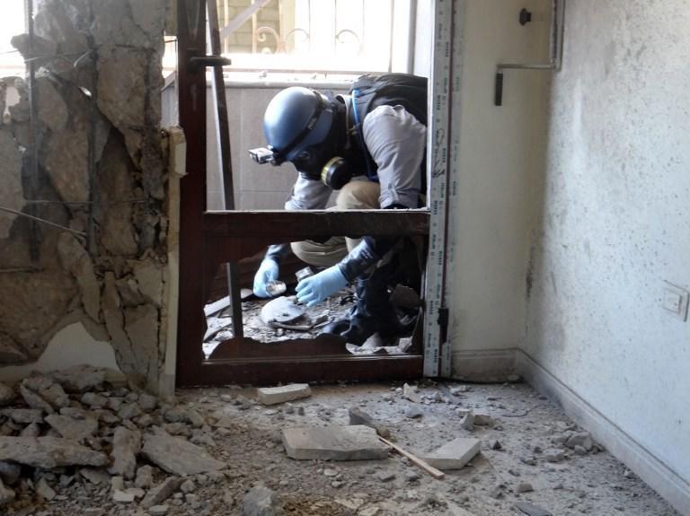 Жители сирийской Гуты обвиняют в химической атаке боевиков, снабжаемых Саудовской Аравией