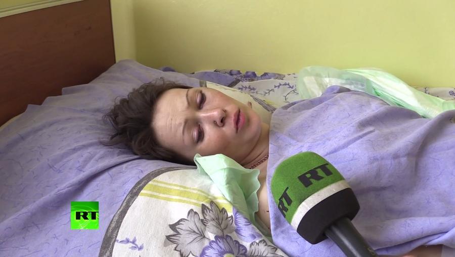 Выжившая при обстреле Горловки: Всё произошло мгновенно, спонтанно