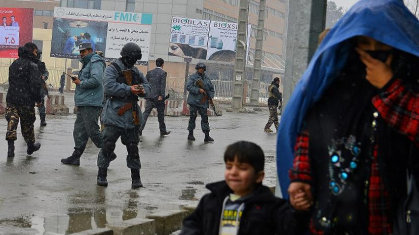 Талибы атаковали управление полиции в Кабуле, идет бой
