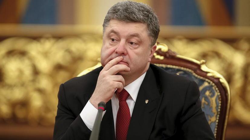 Американское радио рассказало о махинациях Петра Порошенко с заповедной землёй
