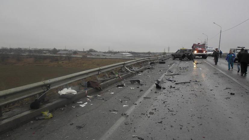 На Ставрополье для борьбы с авариями на дорогах используют святую воду