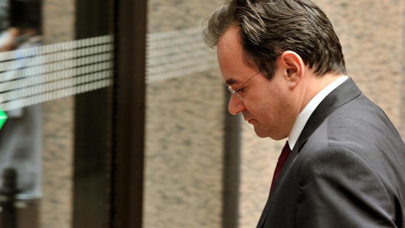 Бывшего министра финансов Греции исключили из партии за финансовые махинации