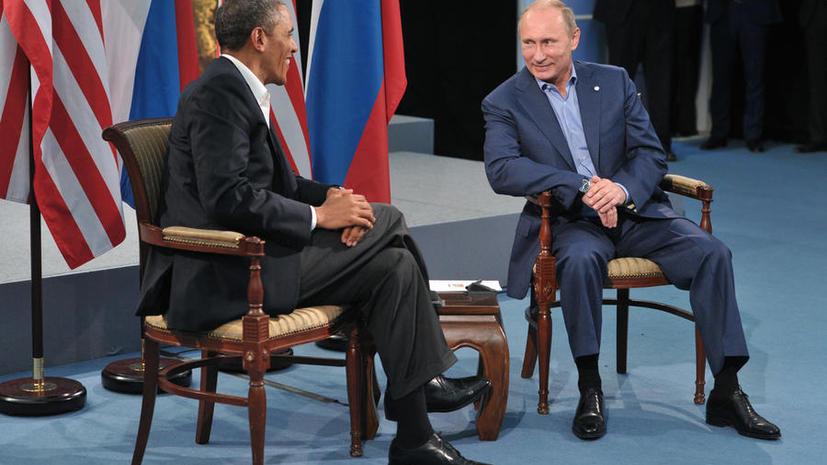 СМИ сообщили о встрече Владимира Путина и Барака Обамы на полях Генассамблеи ООН